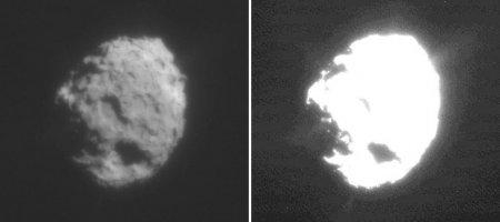 "Ядро кометы Вилд-2 со станции ""Stardust"""